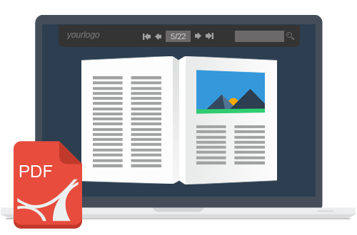 Turn your PDFs into flipbook that rock